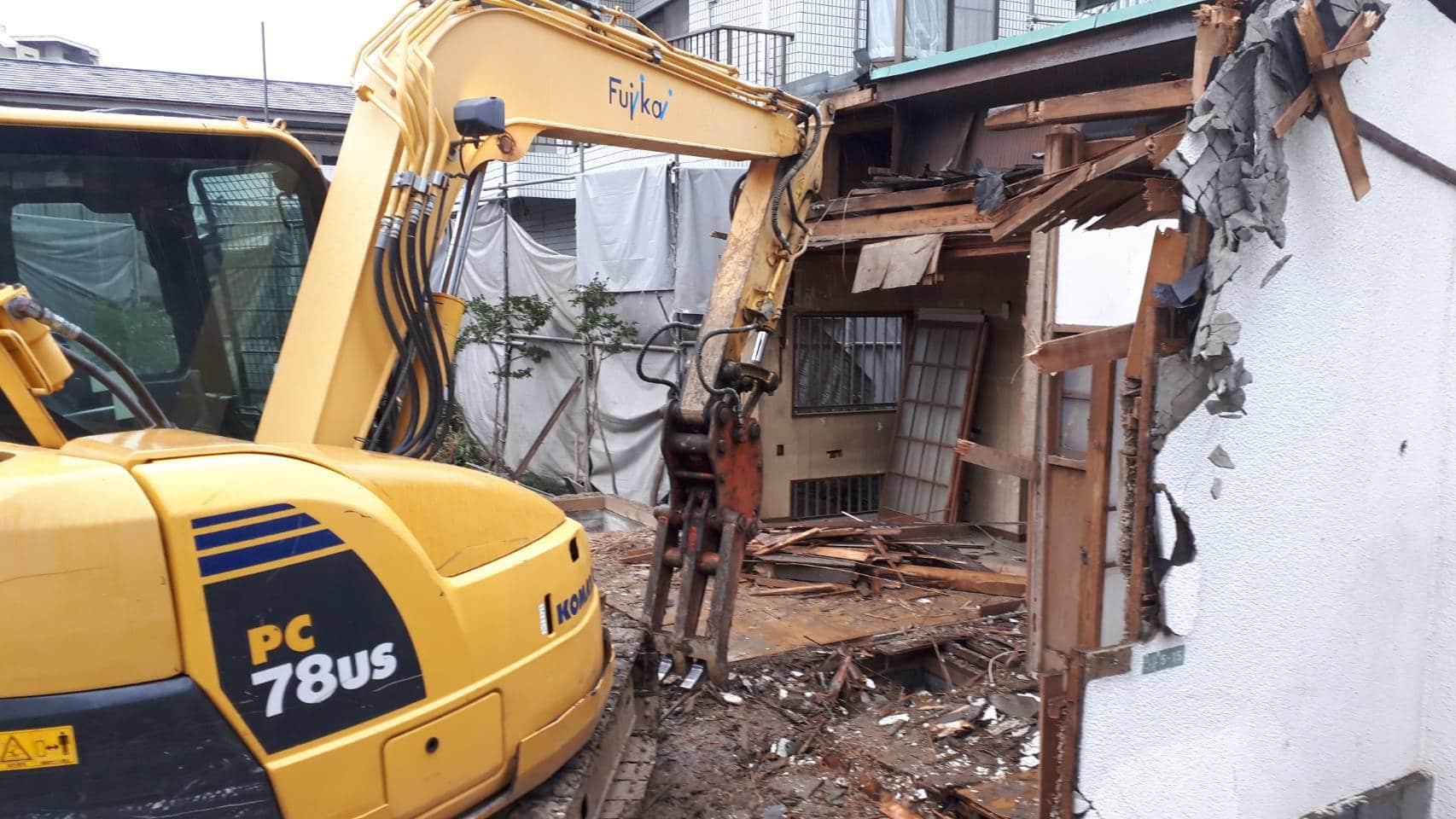 解体工事の流れ   建物解体工事・ビル解体工事は富士解体工業